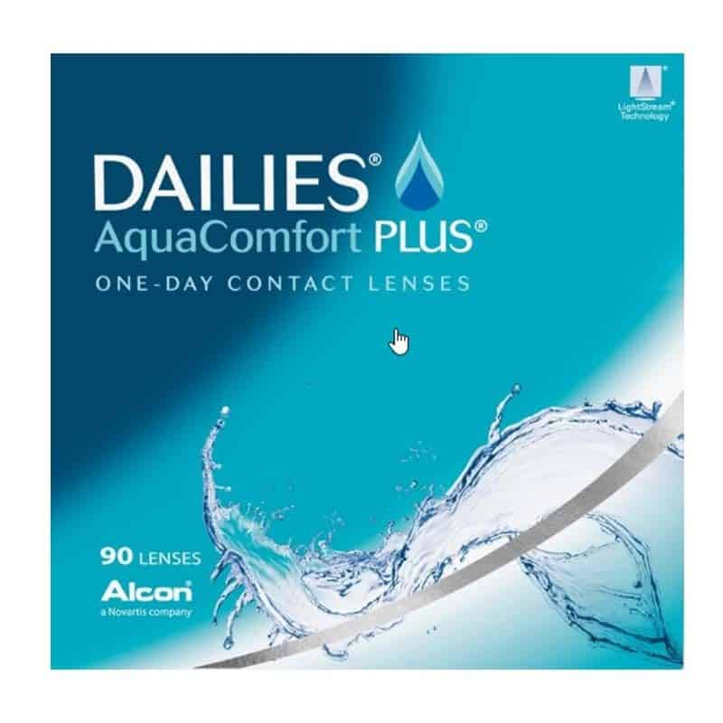 DAILIES® AquaComfort Plus® 90 Pack
