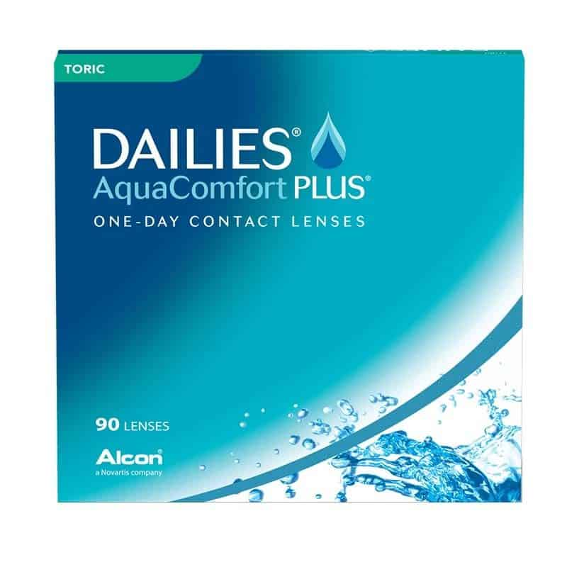 DAILIES® AquaComfort Plus® Toric 90 Pack