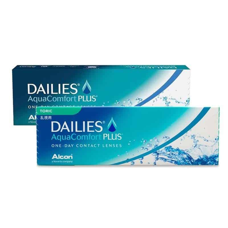 Dailies AquaComfort PLUS 30 Pack + Astigmatism